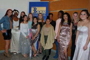 Wilson Tech Fashion Merchandising/Design students at Western Suffolk BOCES PTA Night 2017