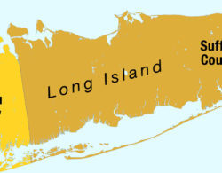 Partial Long Island map