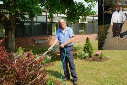 Manor Plains Dedicates Memorial Garden