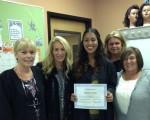Melissa Ortiz wins scholarship.