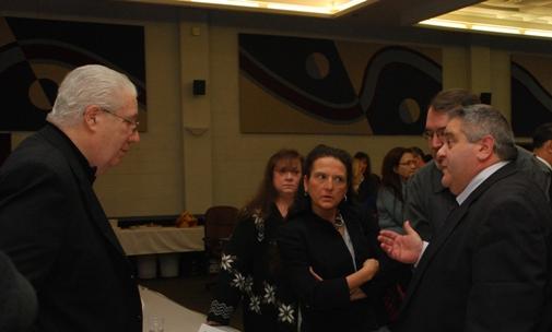 NYS Legislators meet with school officials at BOCES.