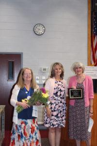 School Library System honoree Joan Hanley